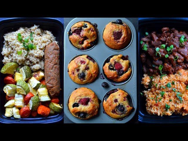 Meal prep rich bitch cooking vegan high protein meal prep 5 full days cheap 20 budget protein breakfast forumfinder Choice Image