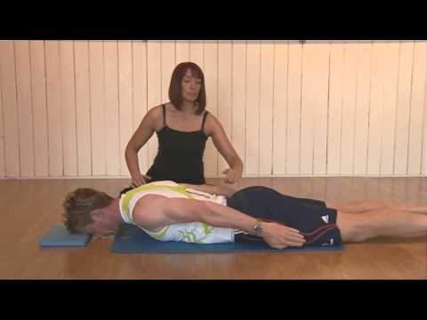 Pilates Dart Exercise - To strengthen the back muscles and improve posture