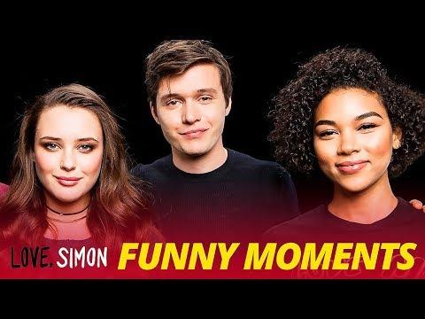 Download Youtube: 'Love, Simon' Bloopers Funny Moments - Nick Robinson & Katherine Langford