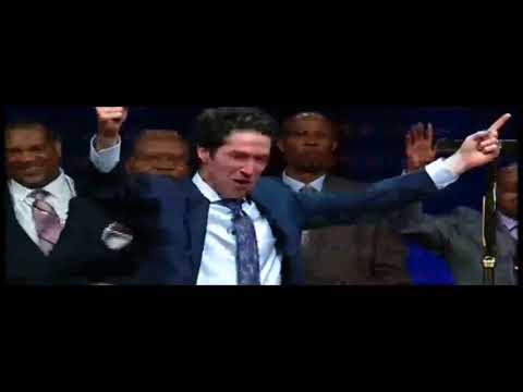 Short Clip Of Pastor Joel Osteen Breakdown Crying While Telling His Testimony Of God's Blessings!