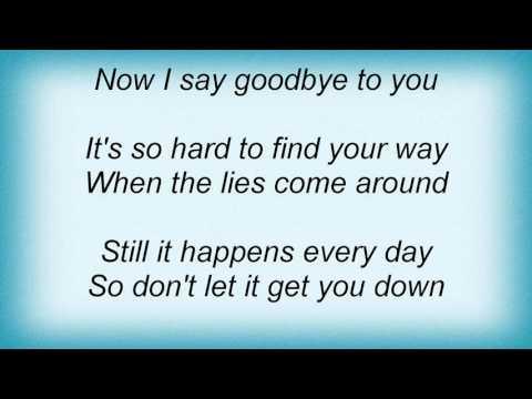 Lindsey Buckingham - Say Goodbye Lyrics
