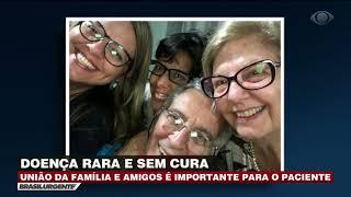 Doença rara, pacientes com ELA precisam de apoio da família