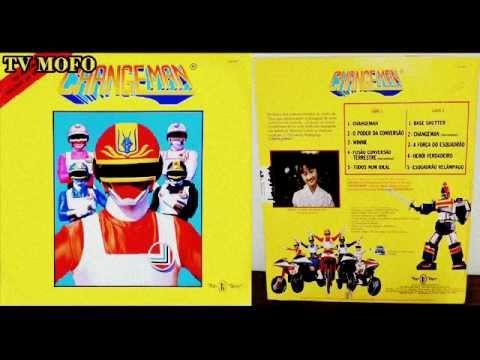 LP Changeman // Completo // RARIDADE
