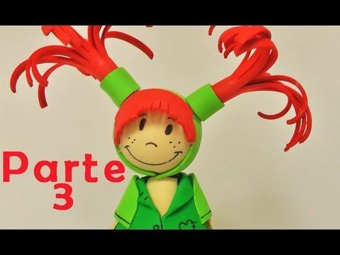 0e1b627b941 Fofuchas - muñeca de goma eva parte 3 - Manualidades para todos ...
