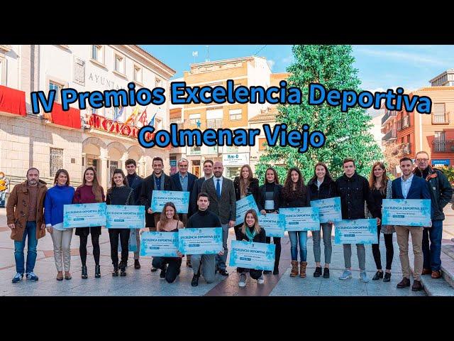 Premios Excelencia deportiva Colmenar Viejo