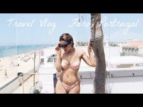 Travel With Me to Faro, Portugal | Part One Travel Vlog | Through Mona's Eyes