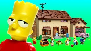 Animated Lego Simpsons House 71006 Flash Speed Build