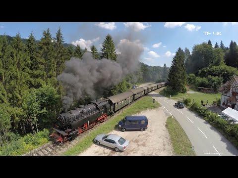 Zug um Zug - Mit Dampf durch den Schwarzwald - Drone Film 2015