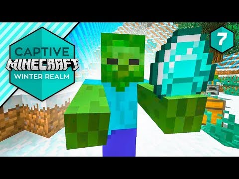 DIAMONDS TO YOU! - Captive Minecraft IV #7