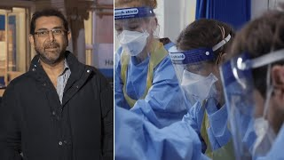 video: Watch: What it's like at a London hospital amid the second wave