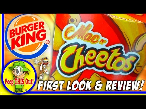 Burger King's new Mac n' Cheetos are so beautiful I want to cry