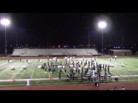 """Azusa High School Band """"Because of the Hat"""" 10/07/2017."""
