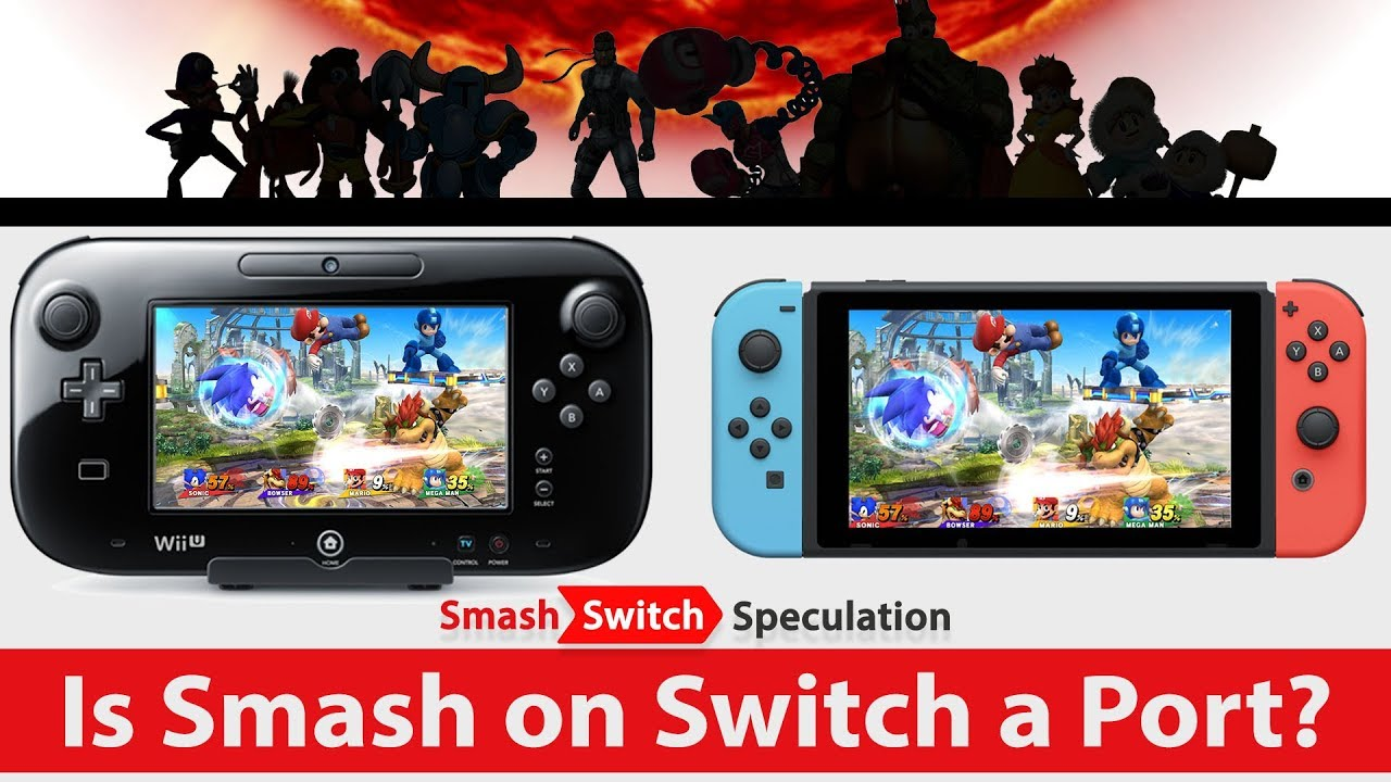 Is Smash Bros  on Switch a Port? | Smash, Switch, Speculation
