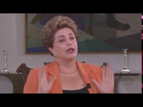 Kennedy Alencar entrevista a presidente afastada Dilma Rousseff - Parte 1