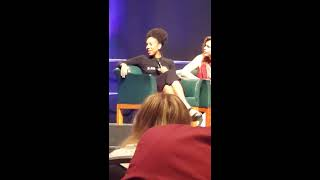 Pearl Mackie's thoughts on being the first openly gay companion (Wizard World Philly 2017)