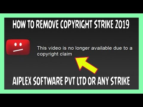 HOW TO REMOVE ANY COPYRIGHT STRIKE