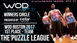 The Puzzle League | 1st Place Team Division | Winner Circle | World of Dance Boston 2017 | #WODBOS17
