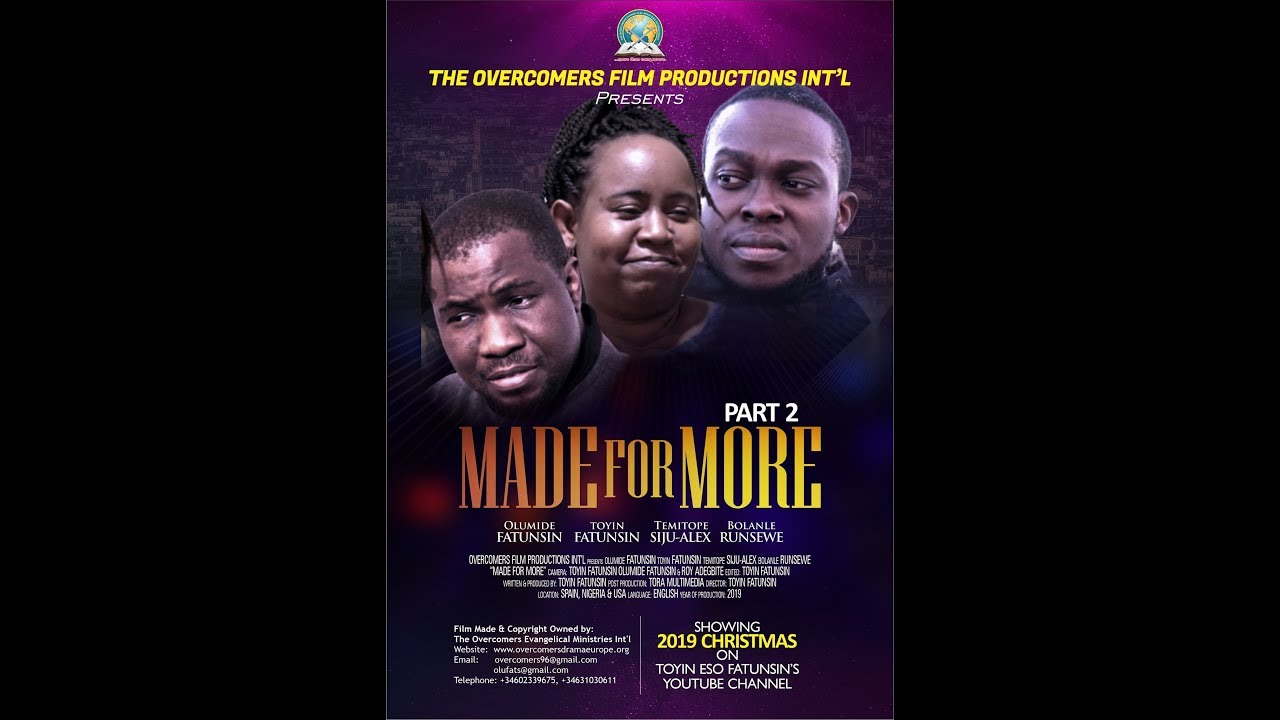 Download MADE FOR MORE MOVIE PART 2
