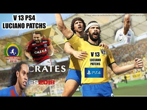 PATCH PES 2018 V13 PS4  OPTION FILE FULL DLC 4