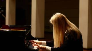 "Beethoven ""Moonlight"" Sonata op 27 # 2 Mov 3 Valentina Lisitsa. Super fast hands!"
