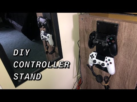 DIY CONTROLLER STAND - SIMPLE HOW TO