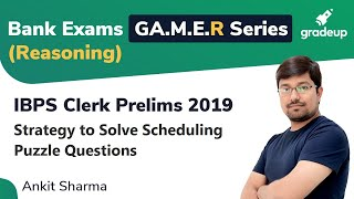 YT GA.M.E.R Series: Strategies to Solve Scheduling Puzzle Questions