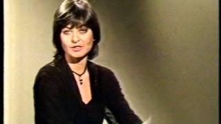 ZDF Sibylle Nicolai Programmansage 25.01.1980 (VCR 1700N Longplay)