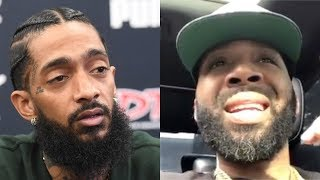 J Prince Jr SET IT OFF Today With This Video About Nipsey Hussle!!