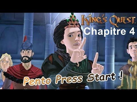 Pento Press Start - King's Quest Chapitre 4