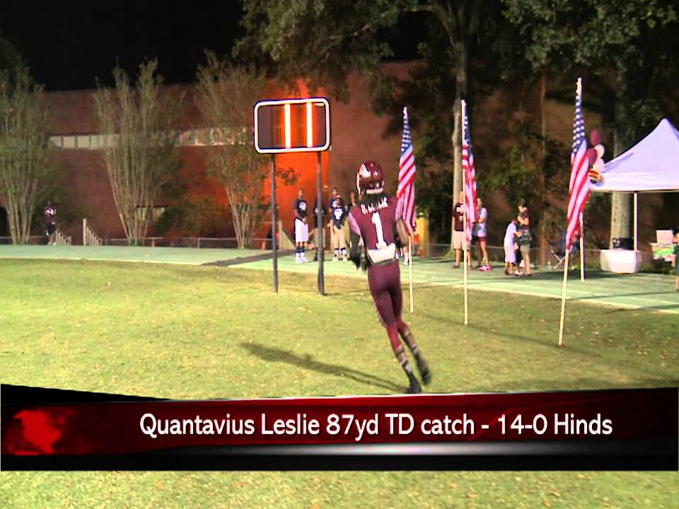 5 Hinds Community College Vs Coahoma Football Highlightsavi Youtube