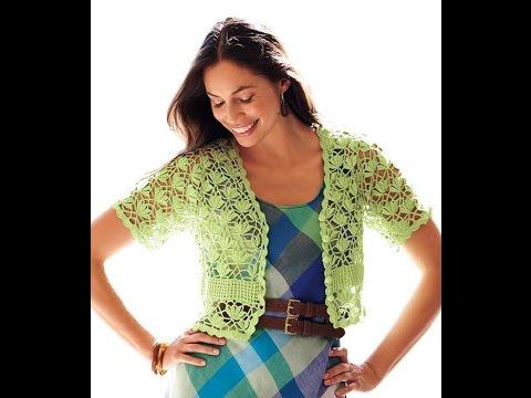 вязание крючком болеро для женщин модели 2019 Crochet Bolero For Women