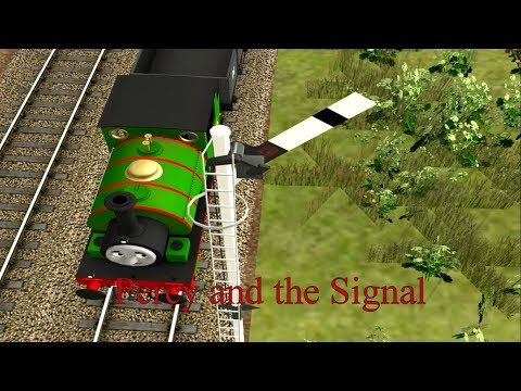 Rails of the North Western Railway - Percy the Small Engine - Percy and the Signal