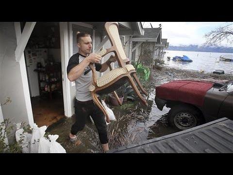 California Flood Forces Evacuations in San Jose