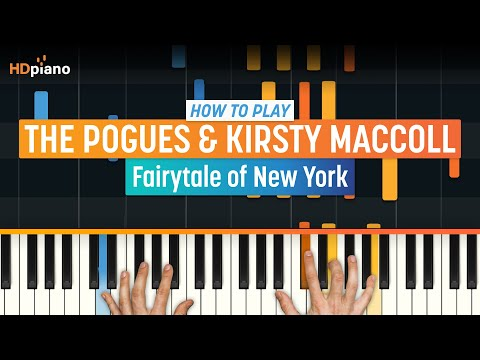 "How To Play ""Fairytale of New York"" by The Pogues & Kirsty MacColl 