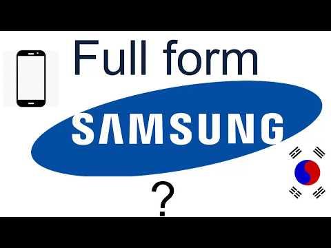Full Form of Samsung (Name Origin) ?