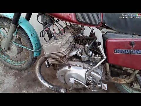 Четырехцилиндровый иж юпитер 5 (700см3 50 лошадей) #:2 Двигатель успешно запущен!