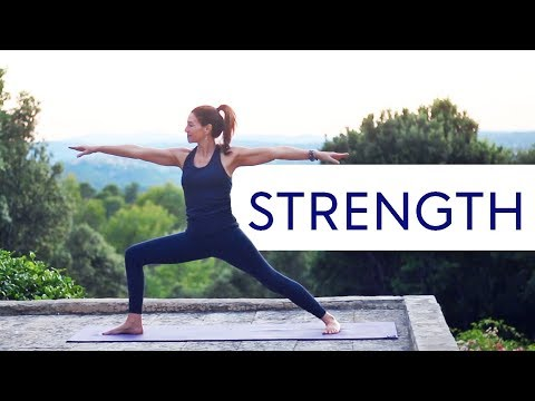 Total Body Yoga Workout (Filmed in the South Of France)