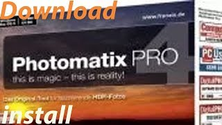 How to Download & Install Plugin Photomatix Pro