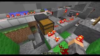 как сделать рабочую атомную станцию Minecraft 1