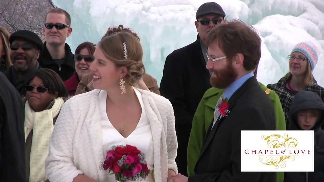 Chapel Of Love Mall America Ice Castle Wedding Highlight February 14 2013