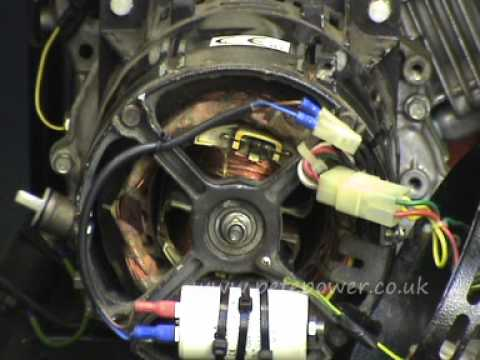 Alternator Wiring Diagram Parts 2002 Ford Transit Radio Fault Finding Repair Tips For A Brushless Capacitor Compensated Generator - Youtube