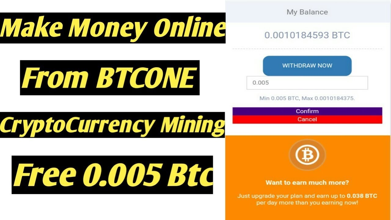 How To Make Cash On-line From Btcone Cryptocurrency Mining Web site