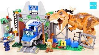 ジュラシックワールド炎の王国(7/13公開)のレゴです。ティラノサウル...