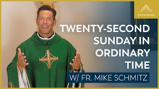 Twenty-second Sunday in Ordinary Time – Mass with Fr. Mike Schmitz