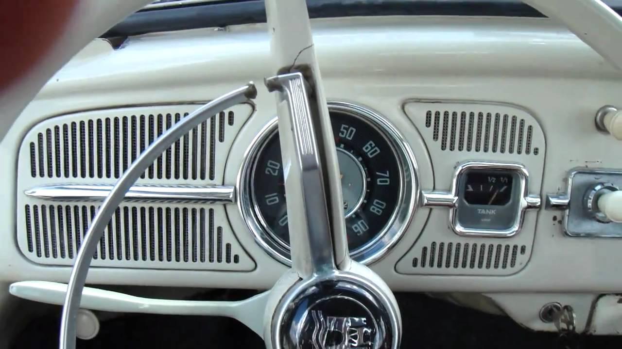 1962 Volkswagen vw Beetle - YouTube