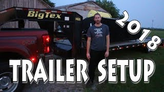 2018  Hot Shot Trailer Setup