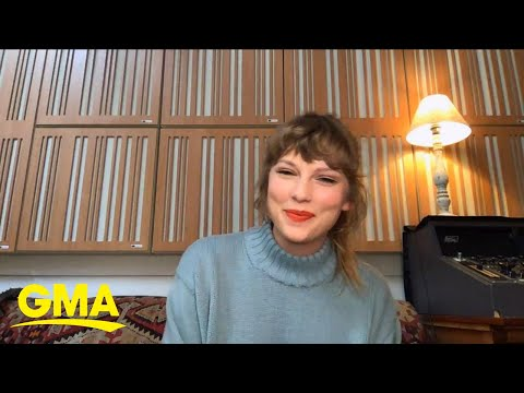 Taylor Swift talks about her new concert film on Disney+ l GMA