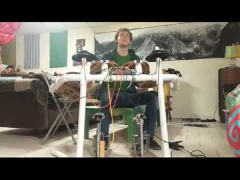 Make A Homemade Electronic Drum Kit
