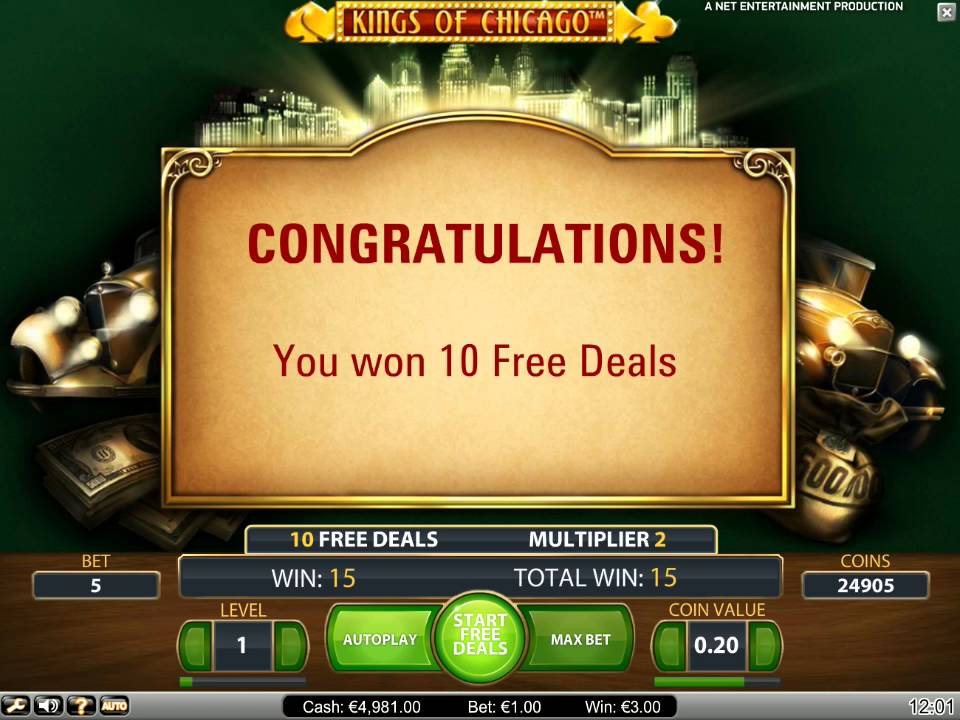 Kings Of Chicago Slots