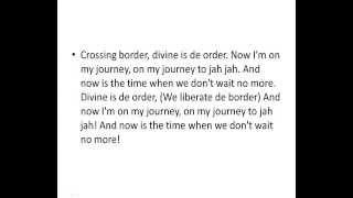 Gentleman - Journey to jah - lyrics